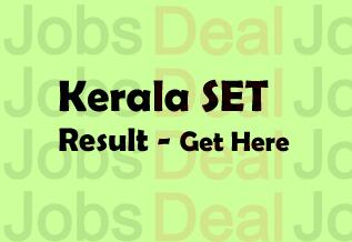 Kerala SET Result 2017