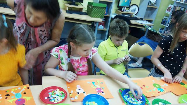 Самарская областная детская библиотека (интересное лето), будет открытка - билет с лягушками
