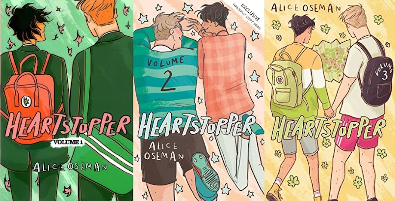 "Po angielsku #1: ""Heartstopper vol. 1-3"" - Alice Oseman"