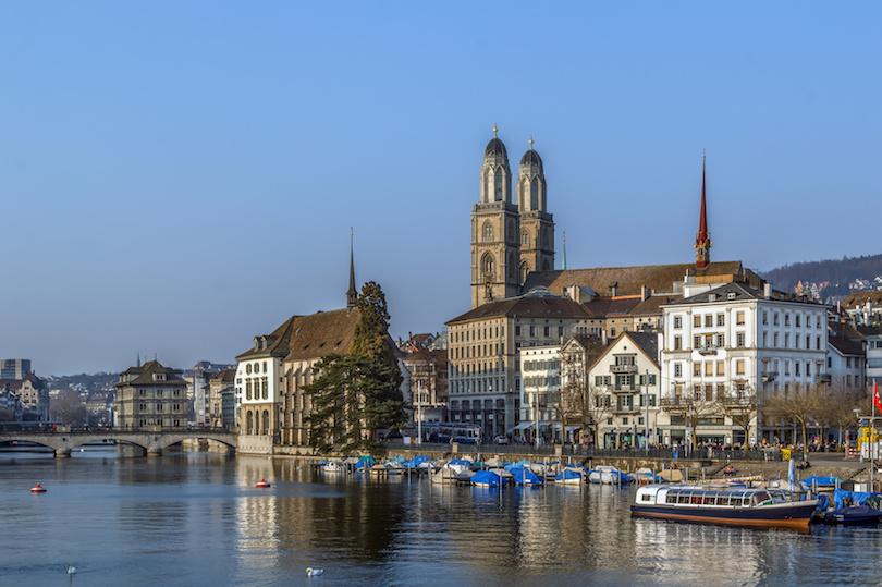 احمل المدن في سويسرا