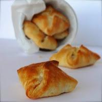 Almofadinhas de frango com camembert