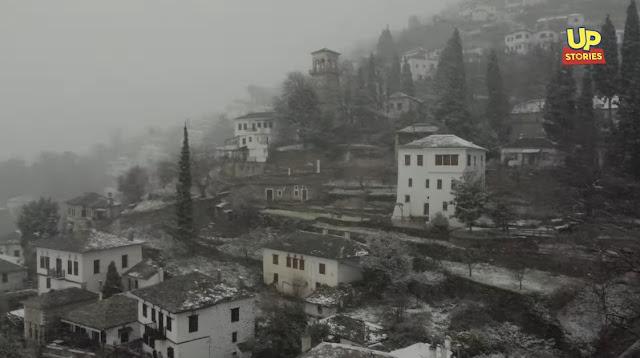 Πήλιο: Ο express χιονιάς ήταν αρκετός για να δημιουργήσει ένα παραμυθένιο σκηνικό (βίντεο drone)