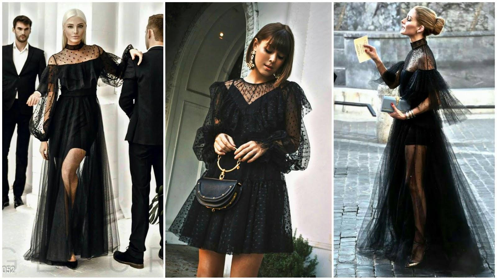 Organza dress trend