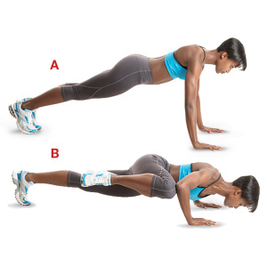 Fitness By Alicia: Workout Wednesday - Spider Plank