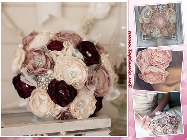 خطوات صناعة زهور الأورجانزا  بالصور - تزيين فستان DIY