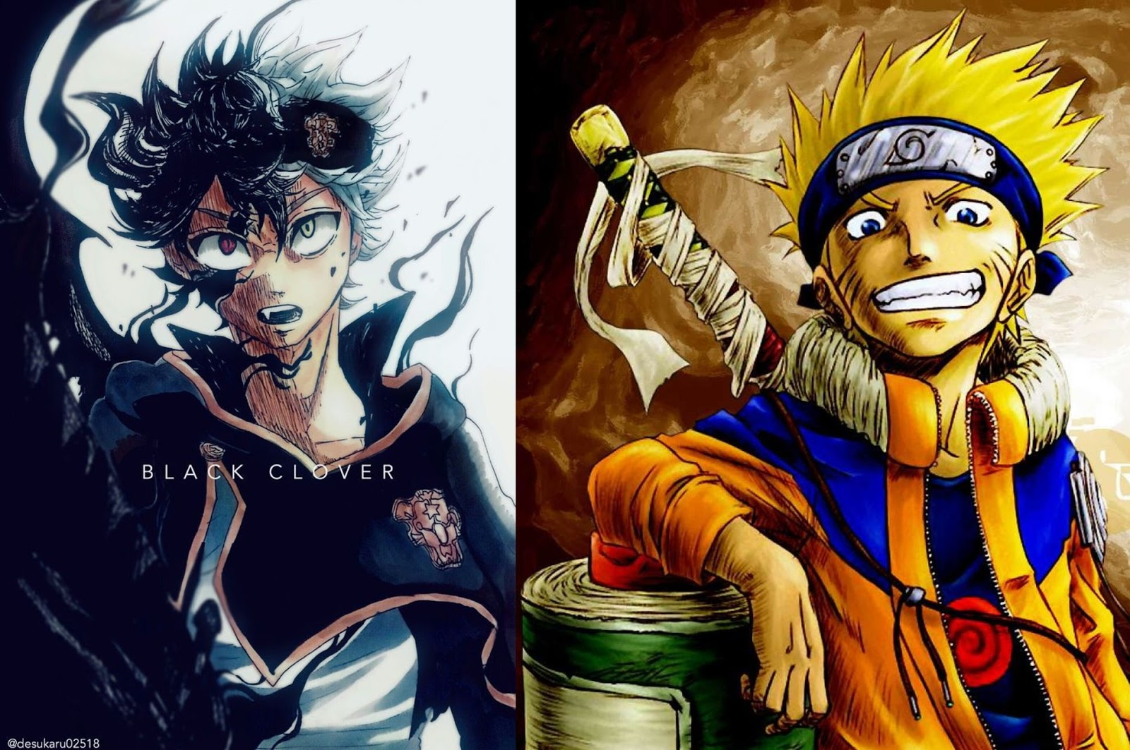 Similarity Between Naruto And Black Clover Anime Su etsy trovi 5 julius novachrono in vendita, e. similarity between naruto and black