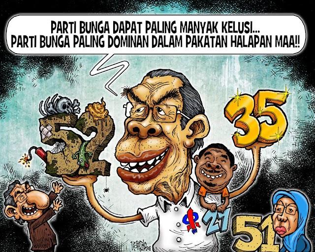 #PPBM Jadi Keldai #DAP Untuk Pungkut Undi Melayu. #TSAM #PakatanProDAP
