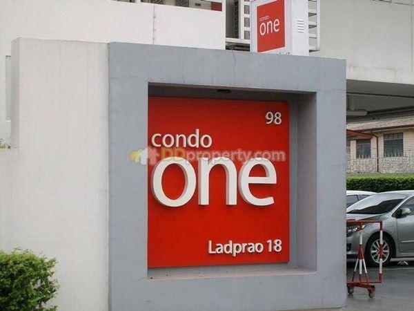 ขายด่วน (เจ้าของขายเอง) Condo one ลาดพร้าว 18 MRT ลาดพร้าว 1 ห้องนอน 1 ห้องน้ำ