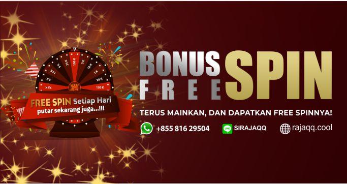 Bonus Freespin Setiap Hari!