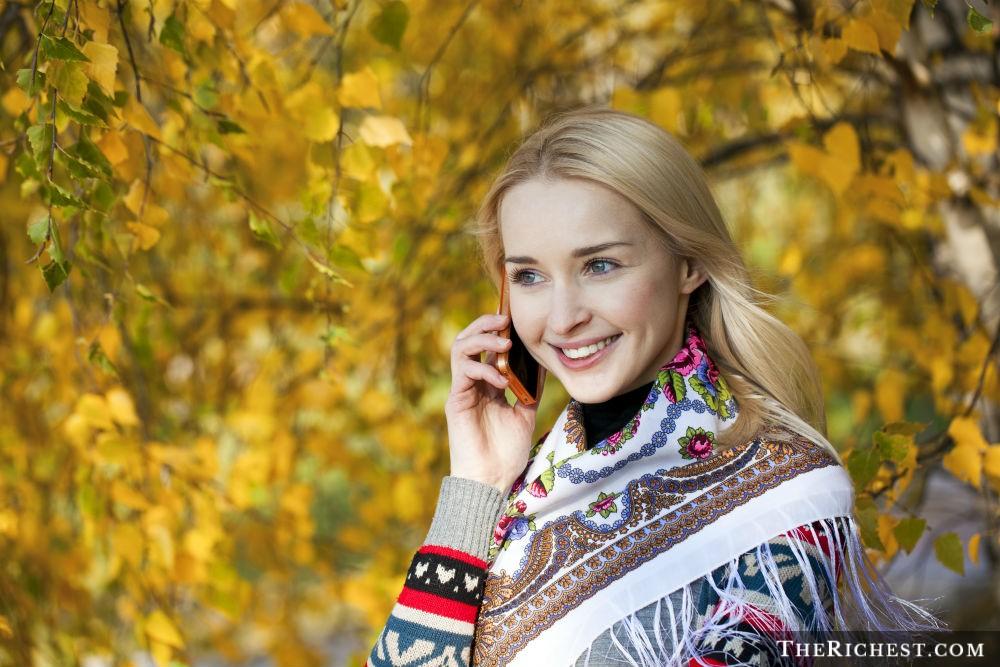 Фото русская девушка дня