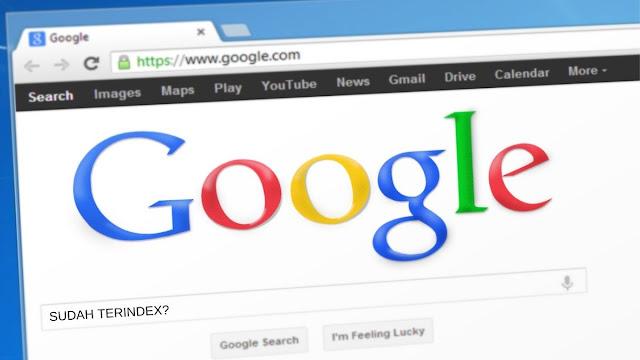 cara mengetahui artikel sudah terindeks google