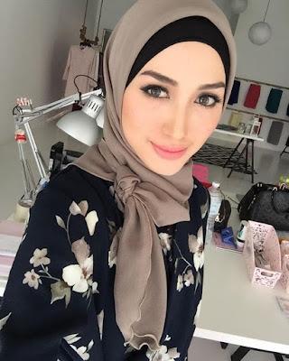 foulard-hijab-simple