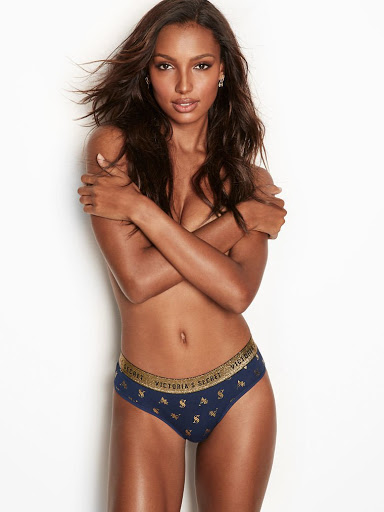 Jasmine Tookes sexy body in lingerie bras & panties photoshoot