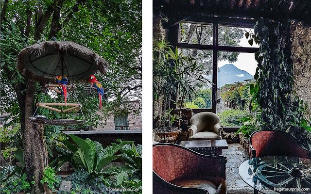 Hotel Museu Casa Santo Domingo, em Antigua Guatemala