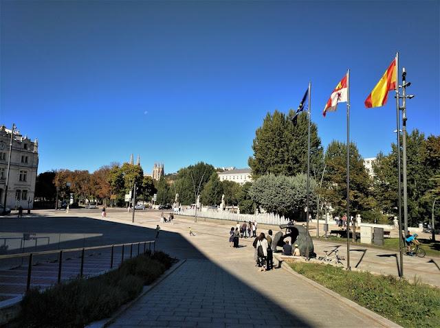 salida del Museo de la Evolución Humana de Burgos