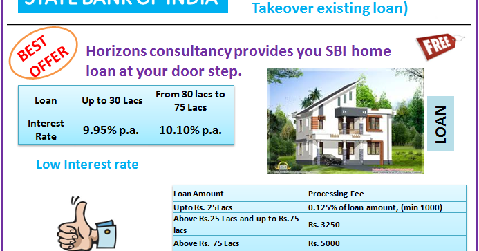 State Bank Of India - Home loan: SBI HOME LOAN OFFER
