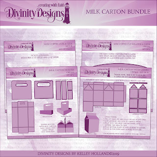 MILK CARTON BUNDLE (X-LARGE DIE, LARGE DIE CUT MACHINE IS NEEDED)