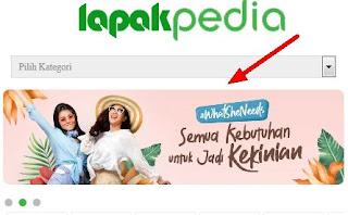 Banner slide lapakpedia THEME