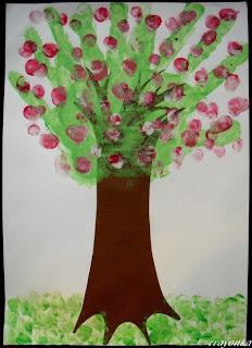 Drzewo wiosną