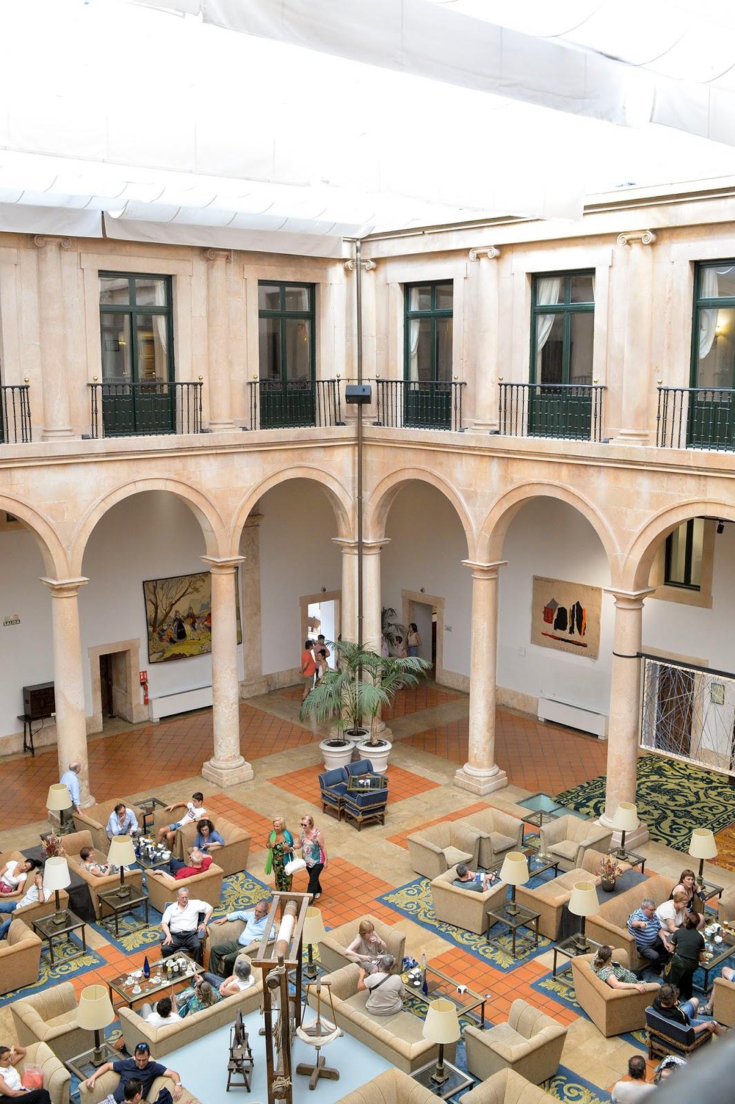 lerma burgos spain castile leon parador hotel ducal palace beautiful village