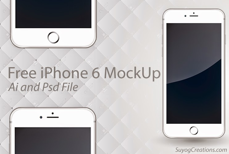 Download iPhone 6 MockUp Ai and Psd