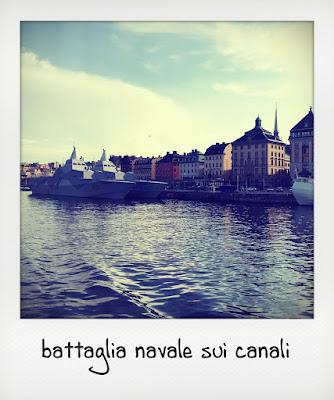 Stoccolma con i bambini, lungo i canali
