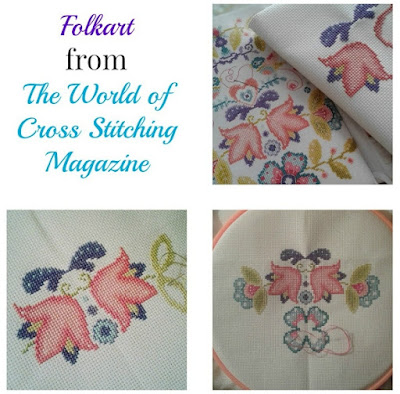 Folkart Cross Stitch Beginnings