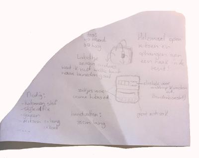 Het ontwerp van de Glamping tas