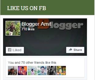 Bloggeramit Facebook page