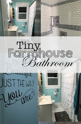 Farmhouse Love Episode 9  . . . The Bathroom is Finally Finished!