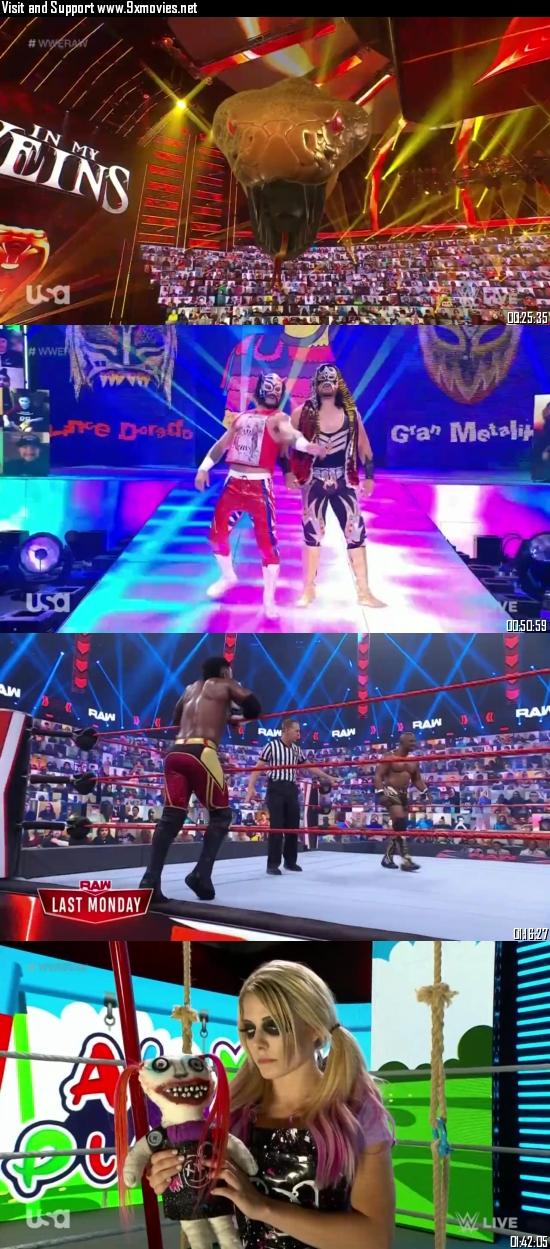 WWE Monday Night Raw 31 May 2021 HDTV 720p 480p 500MB