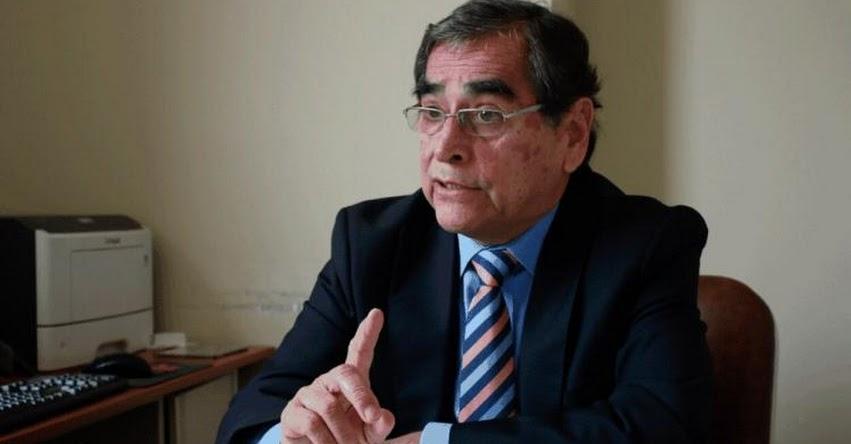 Nuevo Ministro de Salud sería Óscar Ugarte [MINSA]