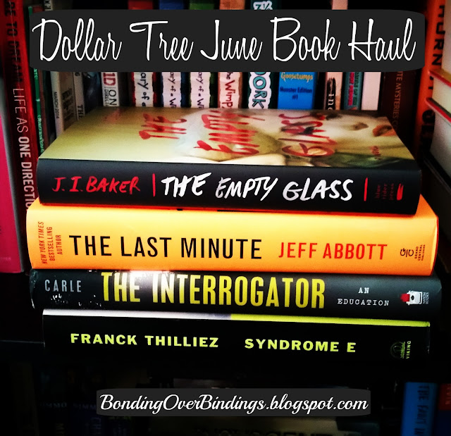 Dollar Tree June Book Haul! - Bonding Over Bindings |Dollar Tree Book Covers