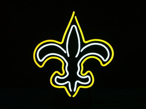 Wiki Neon Sign Blog Nfl New Orleans Saints Football Beer