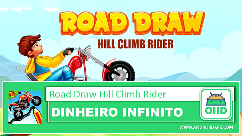 Road Draw 2: Moto Race v1.6.1 – APK MOD HACK – Dinheiro Infinito