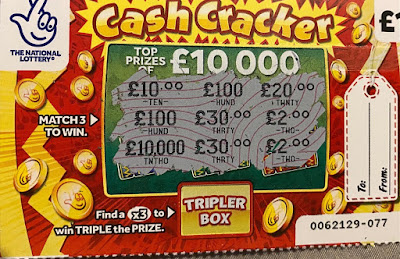 Cash Cracker Scratchcard