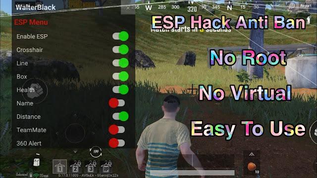 WALTER BLACK ESP V3 FOR SEASON 17 PUBG 1.2
