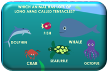 http://www.sheppardsoftware.com/preschool/animals/ocean/animaloceangame.htm