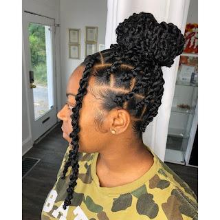 2021Twist Braided Hairstyles.