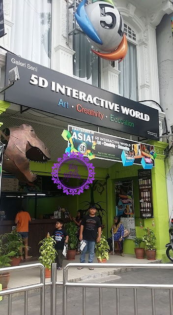 5D INTERACTIVE WORLD | TEMPAT MENARIK DI PENANG