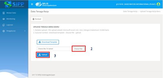 Petunjuk Penggunaan SIPP Online BPJS Ketenagakerjaan 29