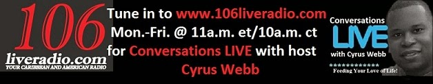 Conversations LIVE is on 106 Live Radio