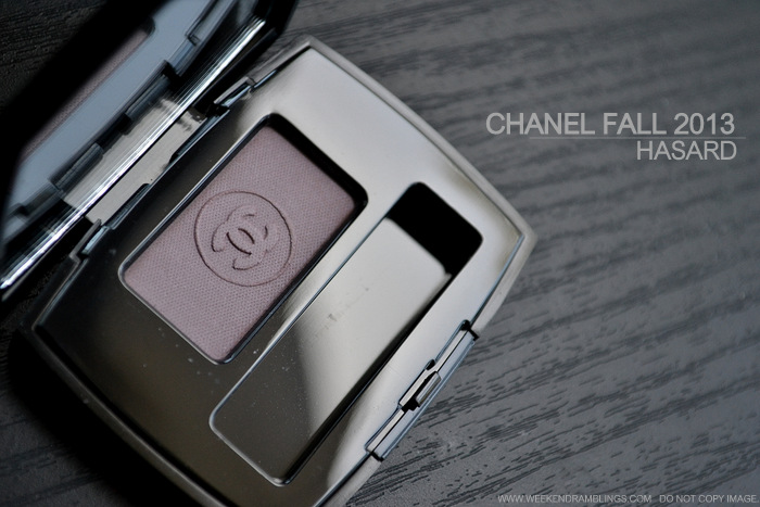 Chanel Fall 2013 Superstition Makeup Collection Ombre Essentielle Soft Touch Eyeshadow Singles Hasard Matte Lavender Photos Swatches Indian Darker Skin Beauty Blog
