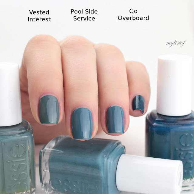 Dupe Essie Pool Side Service