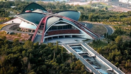 Спортивно-концертный комплекс в Ереване