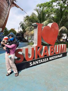 i love sukabumi santasea waterpark