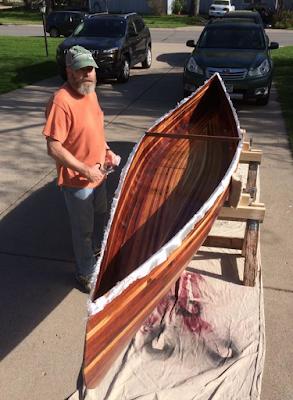 Canoe #03 Inside Resin Coat