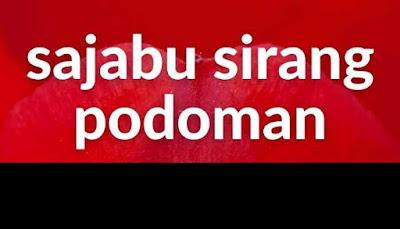 Lirik Batak Sajabu Sirang Podoman
