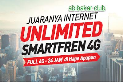 Harga Paket Internet Unlimited 4G SmartFren