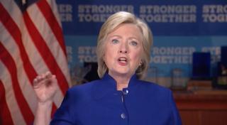 Hillary Turns Manic In New Video